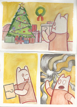 Watercolor comic compilation 1