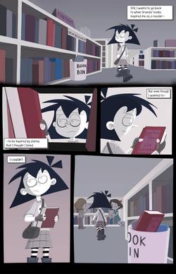 Amelia Enmity #1 (Final Comic) page 4 Fi
