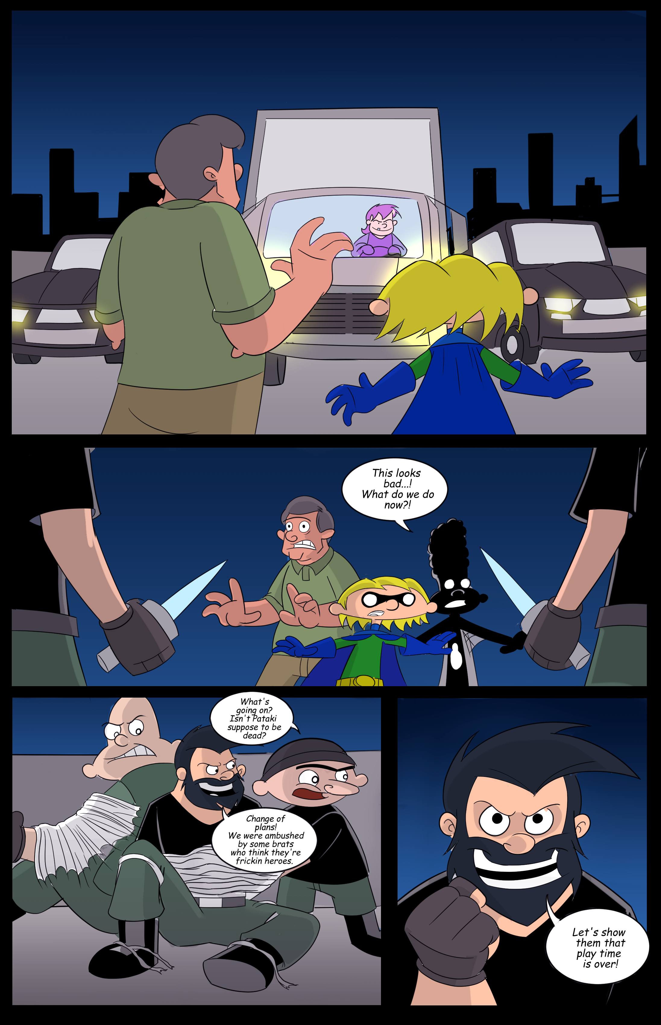 Hey Arnold! superhero page 8