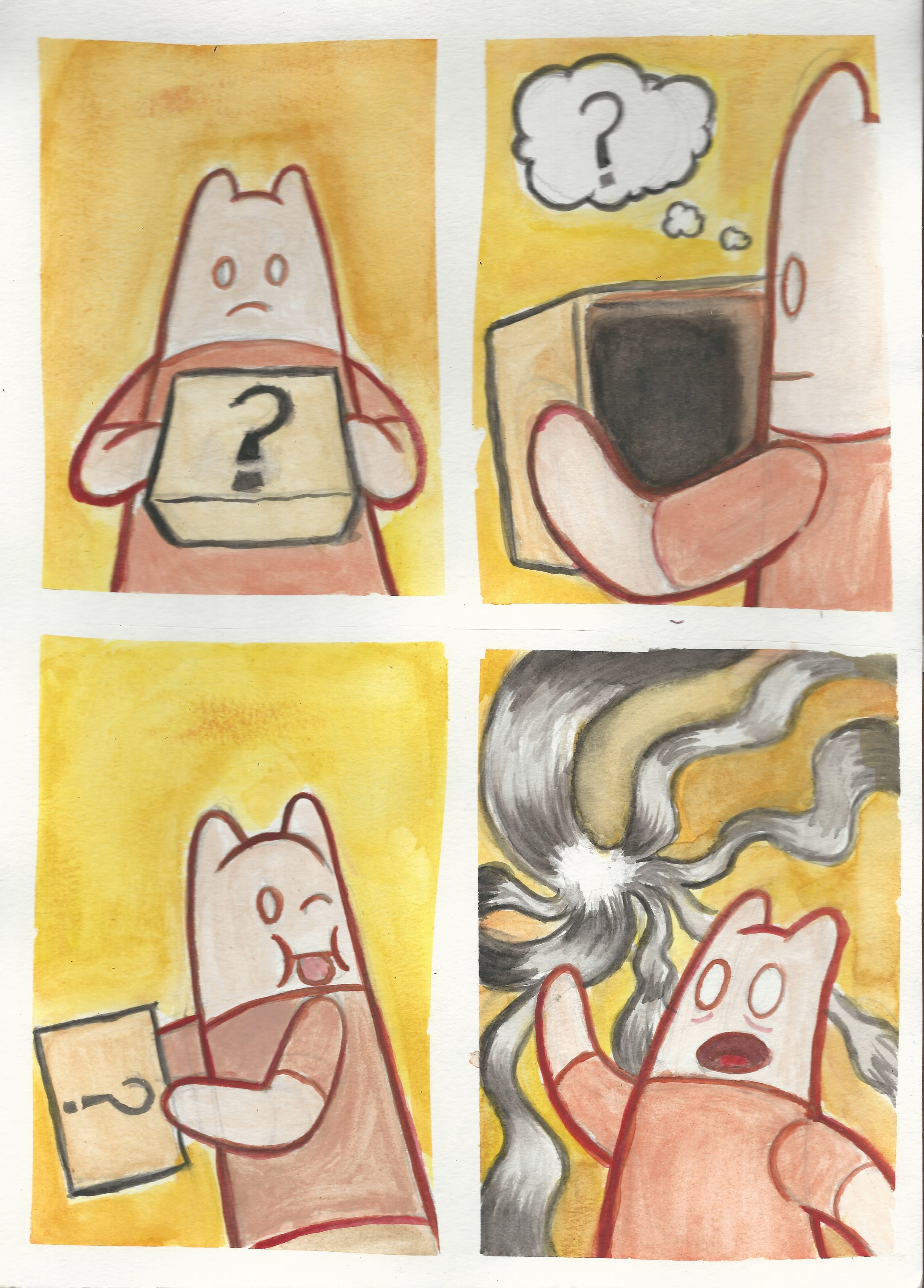 Watercolor comic compilation 2