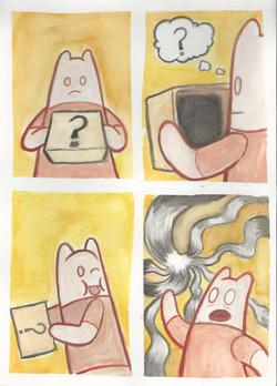 Watercolor comic compilation 2
