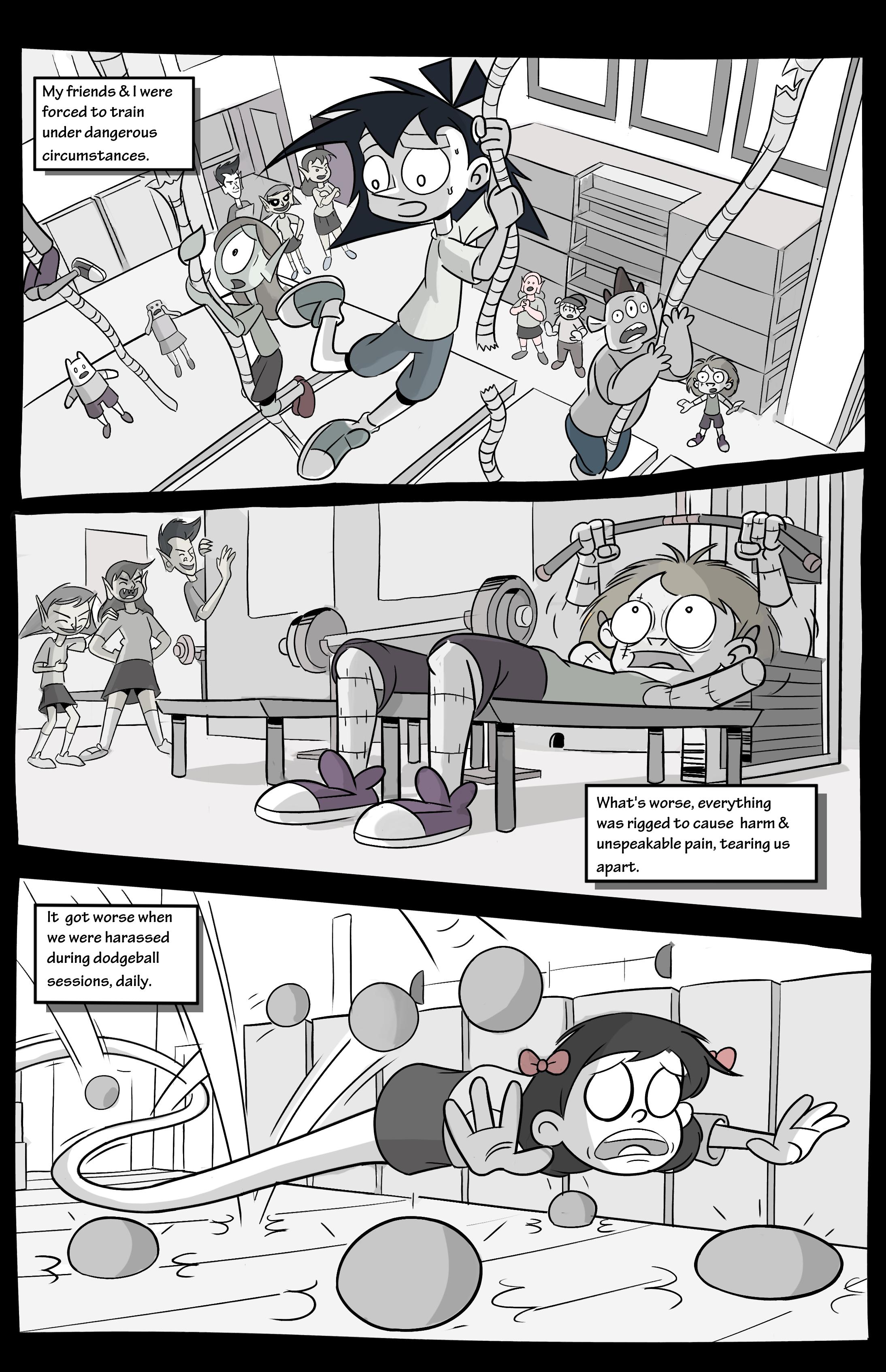 Amelia Enmity #1 Page 3