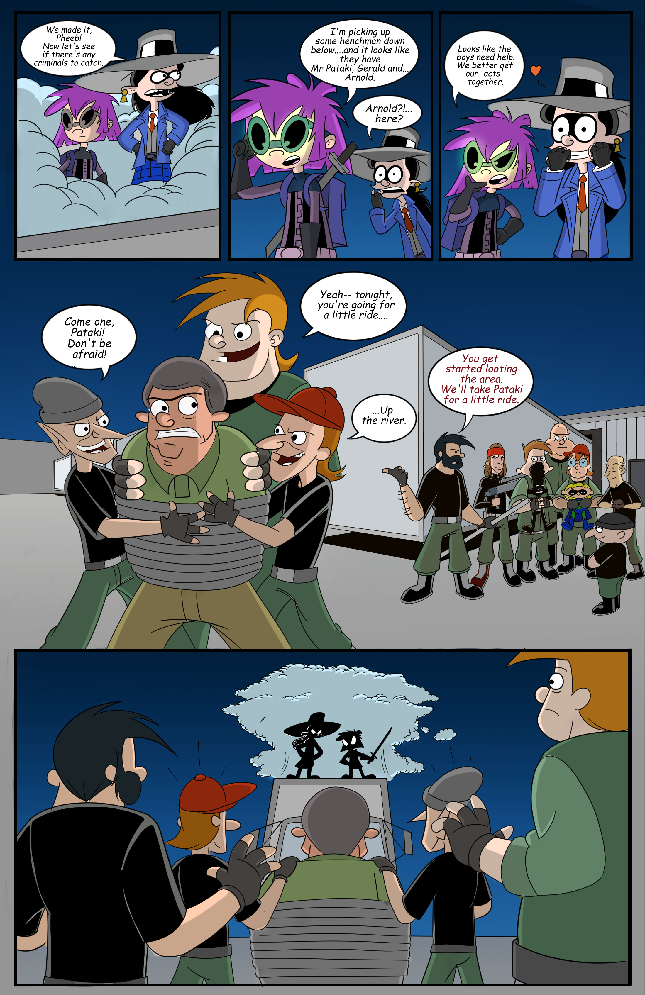 Hey Arnold! superhero page 11