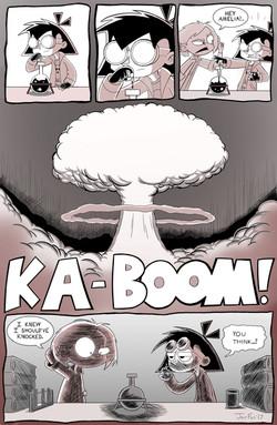 Amelia Enmity comic page 1