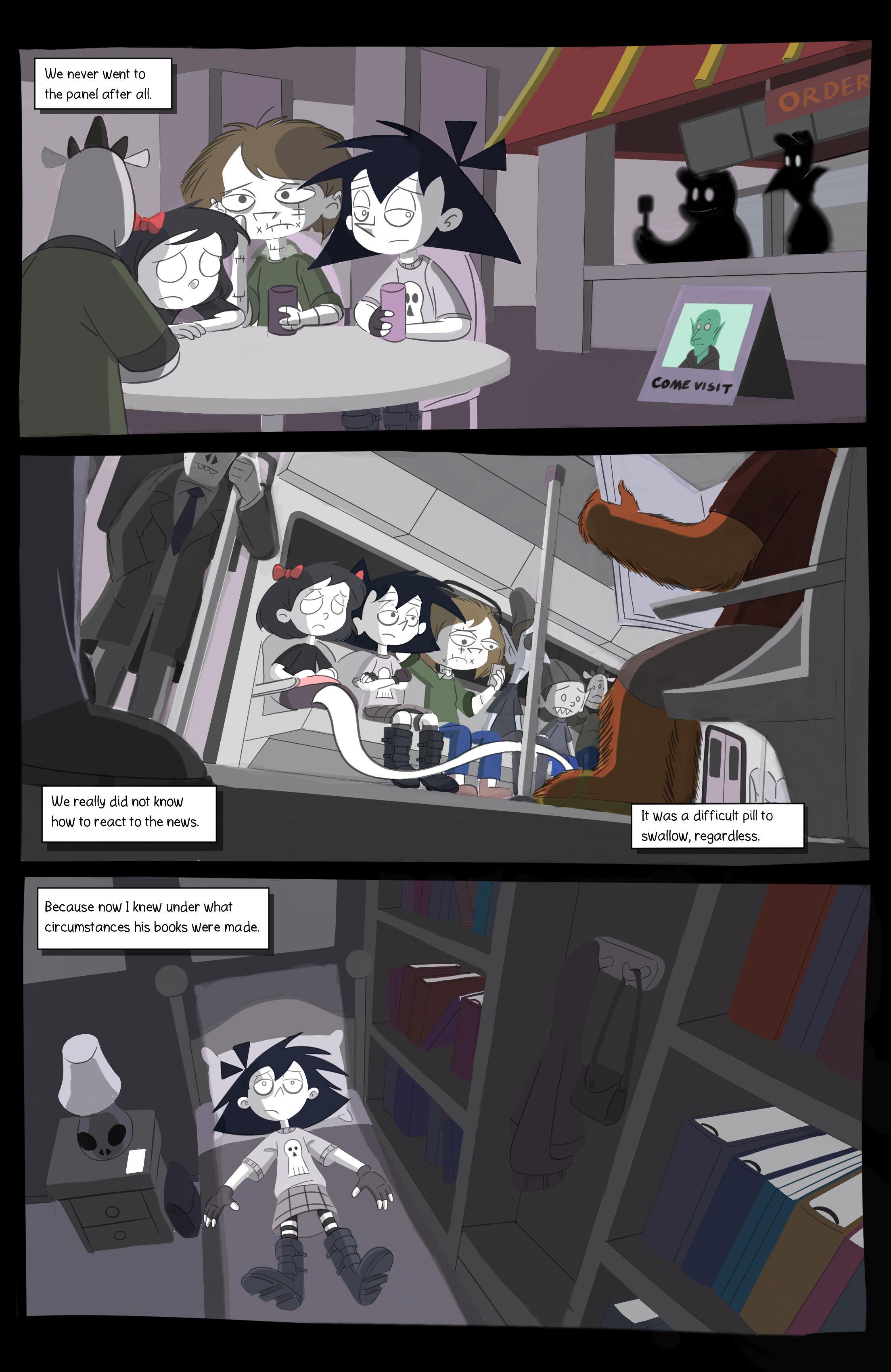 Amelia Enmity Webcomic Page 3 final Fina