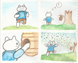 Watercolor comic compilation 4
