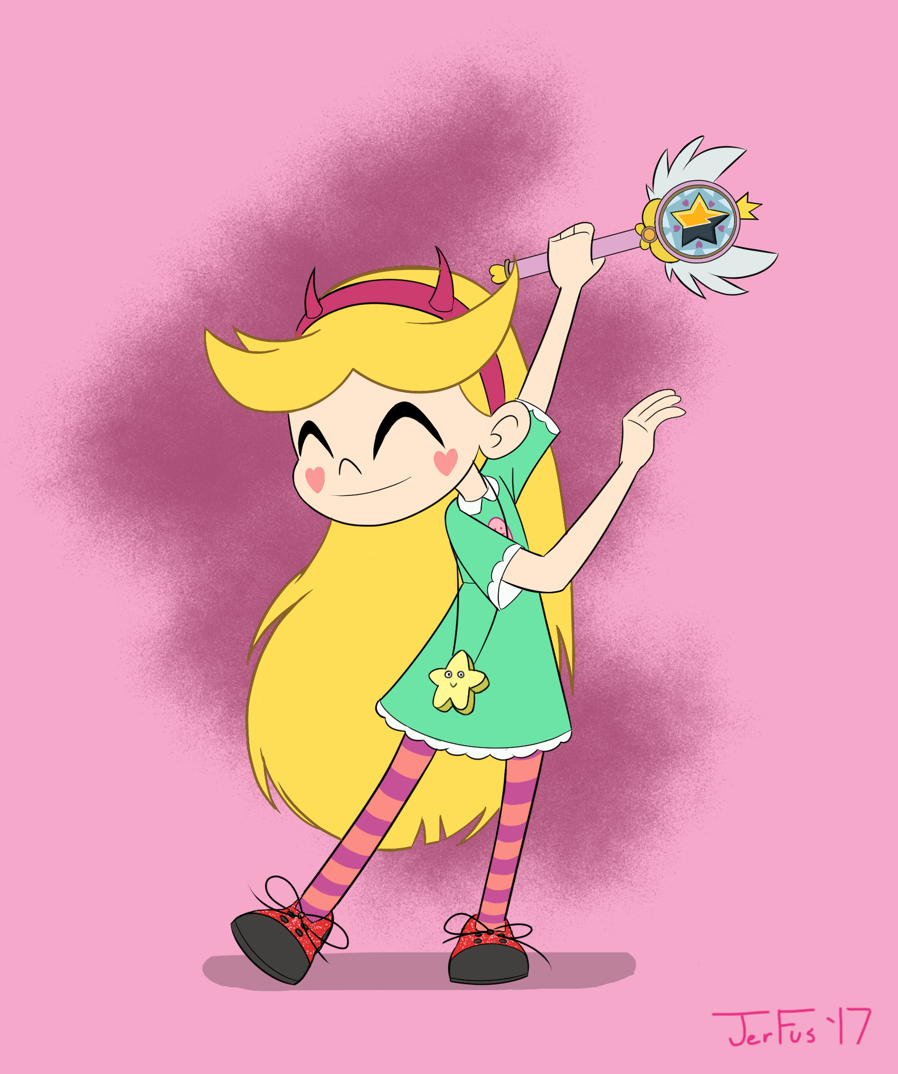Star Butterfly Tap Dancing Final