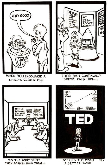 Creativity Comic