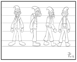 Ben Character Design #3 (finished)