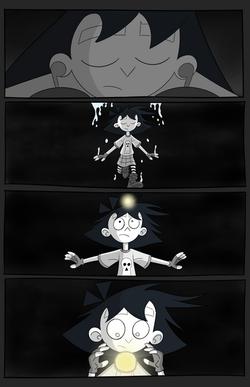 Amelia Enmity #1 page 2 (story 2)