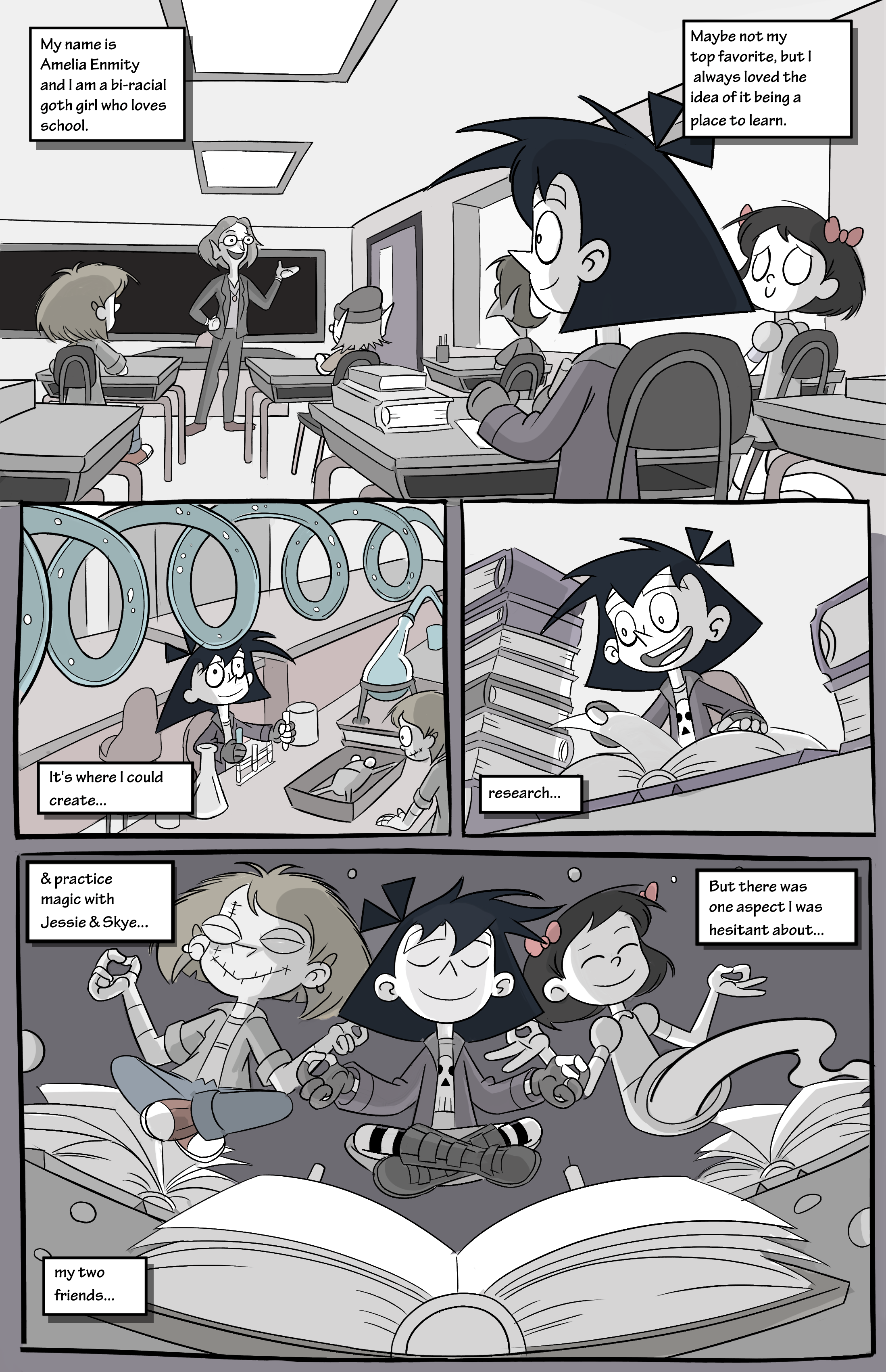 Amelia Enmity #1 (page 1)