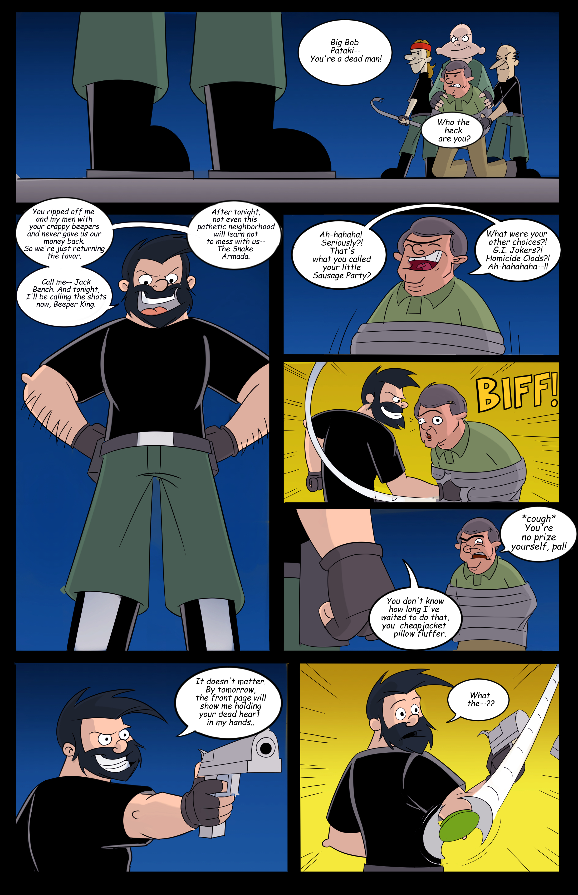 Hey Arnold! superhero page 4