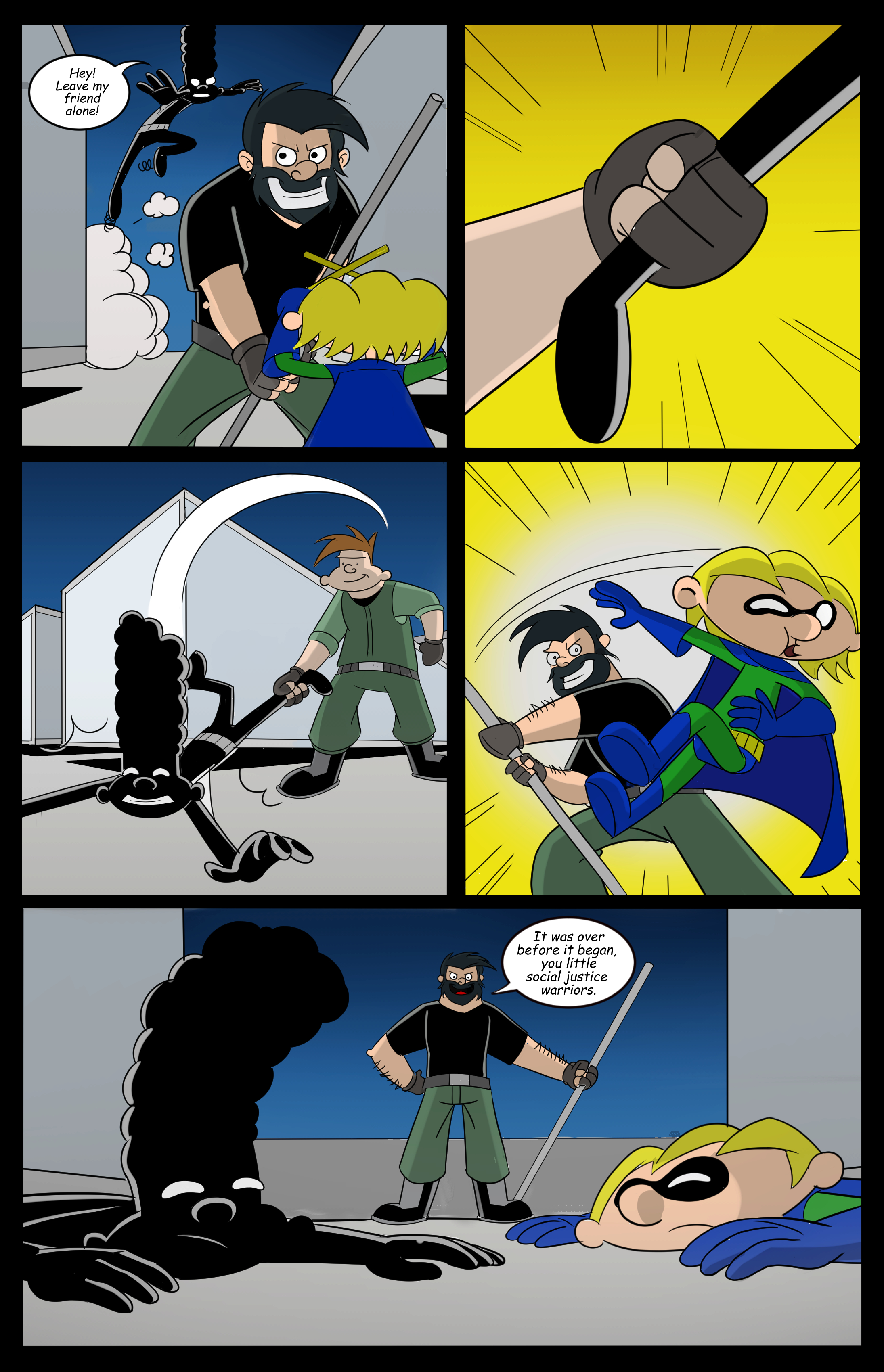 Hey Arnold! superhero page 10