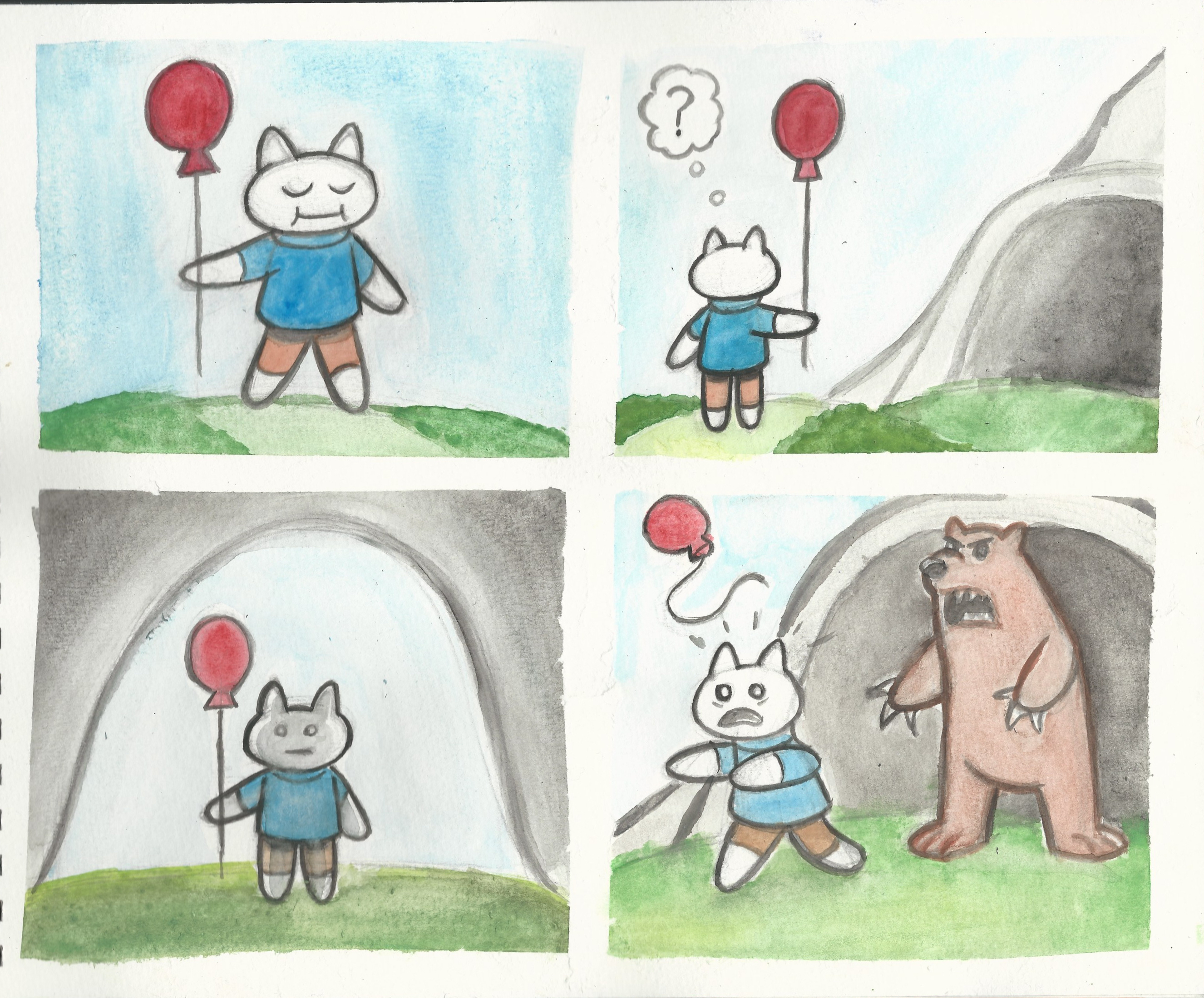 Watercolor comic compilation 3