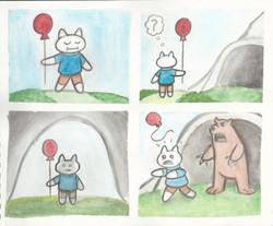 Watercolor comic compilation 3