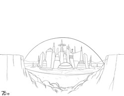 City in the Space Desert Final