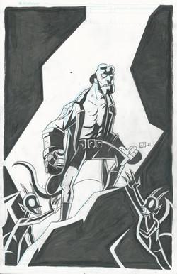 Hellboy ink 1
