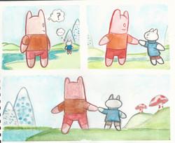 Watercolor comic compilation 7