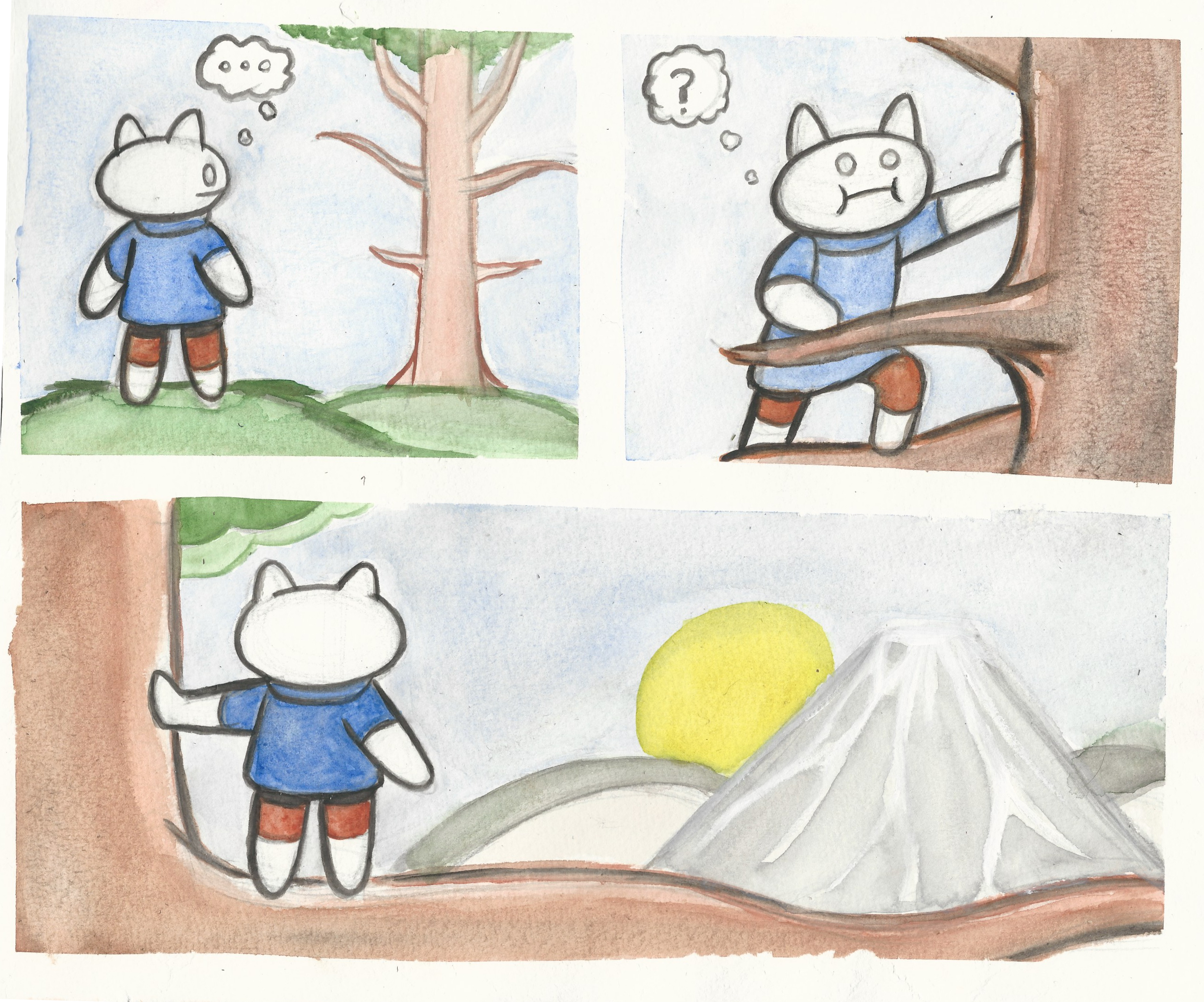 Watercolor comic compilation