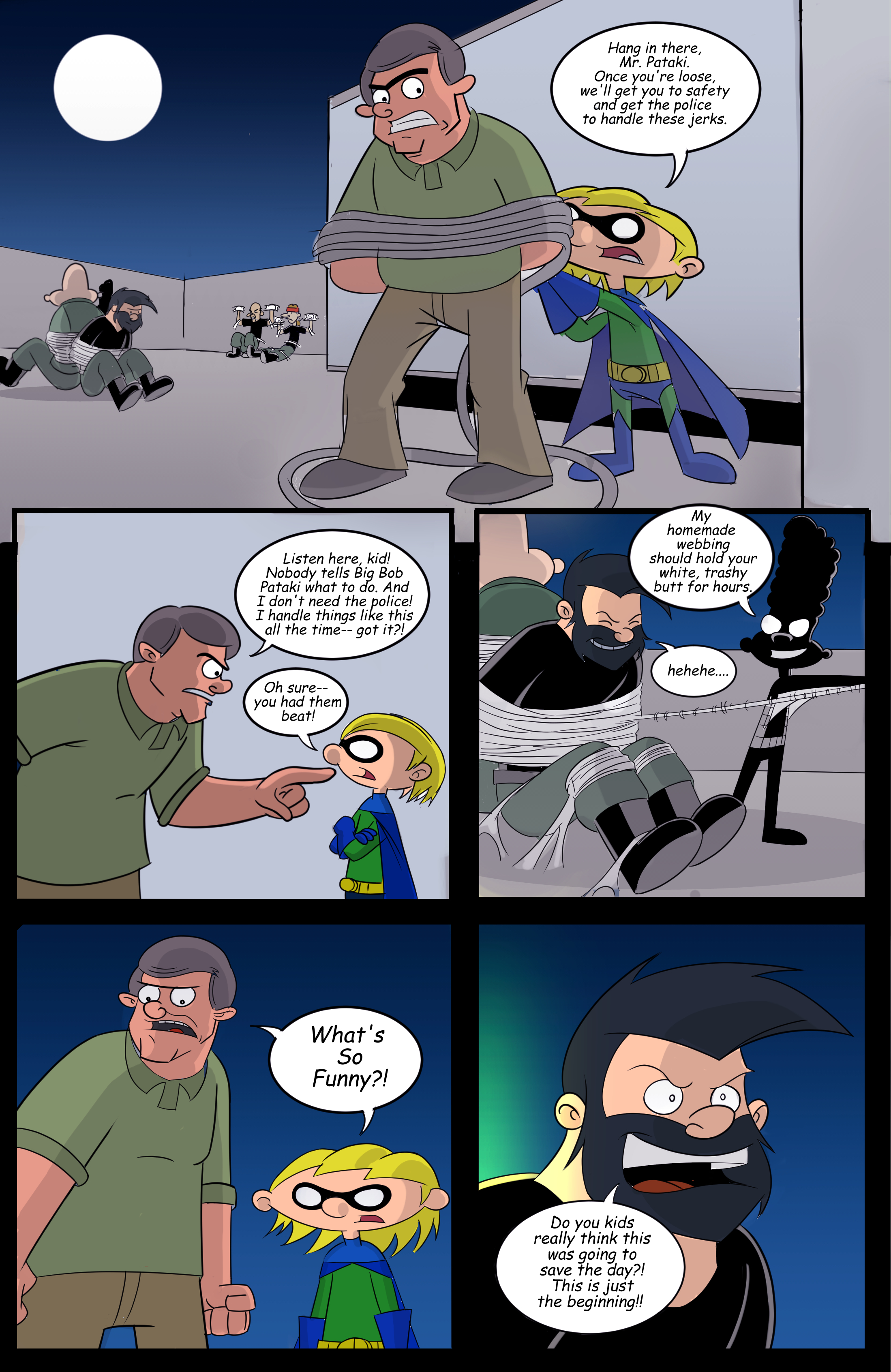 Hey Arnold! superhero page 7