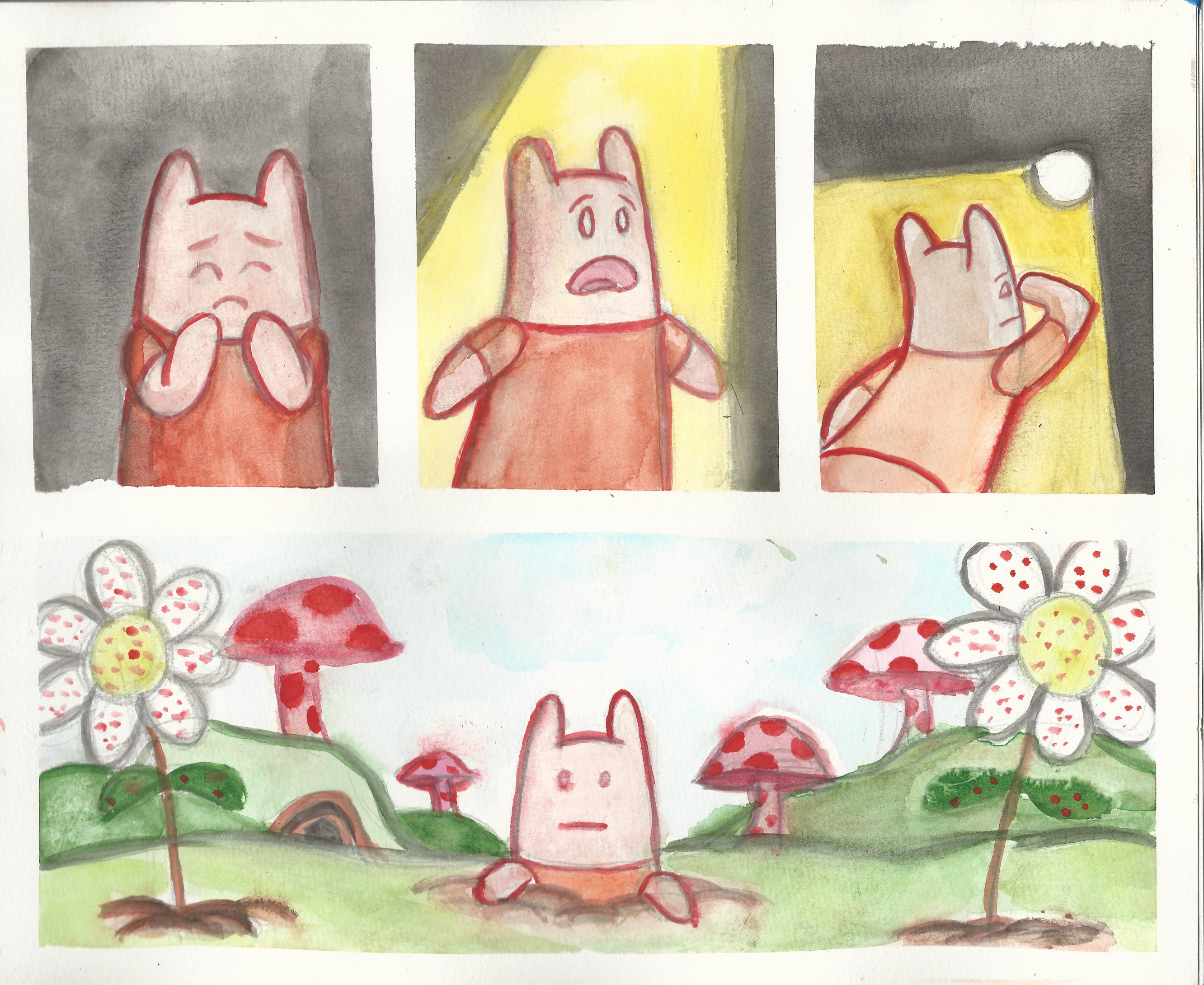 Watercolor comic compilation 5