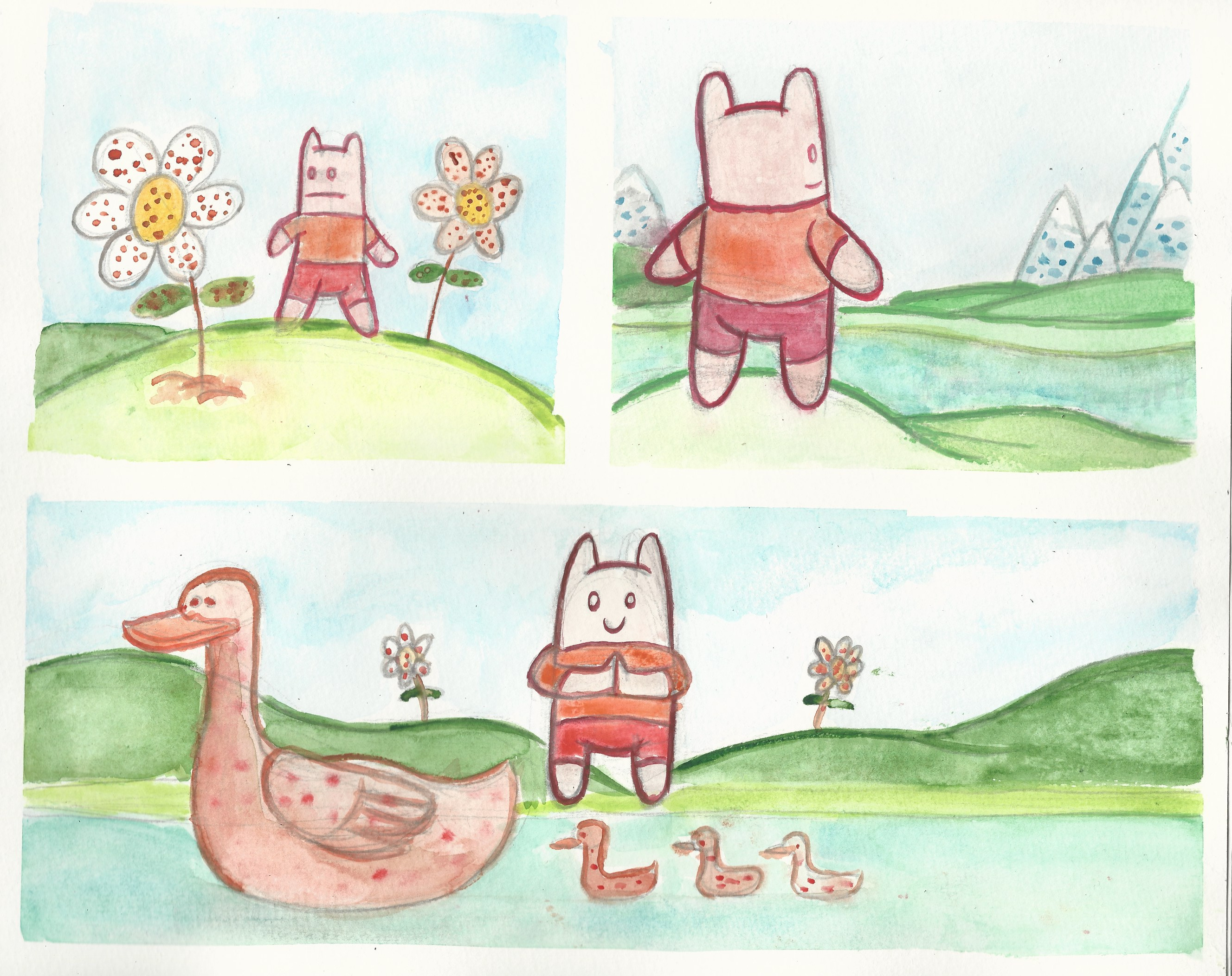 Watercolor comic compilation 6