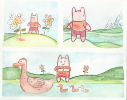 Watercolor comic compilation 6