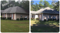 A home that has been recently cleaned (b