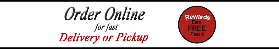 Banner - Order online and receive points