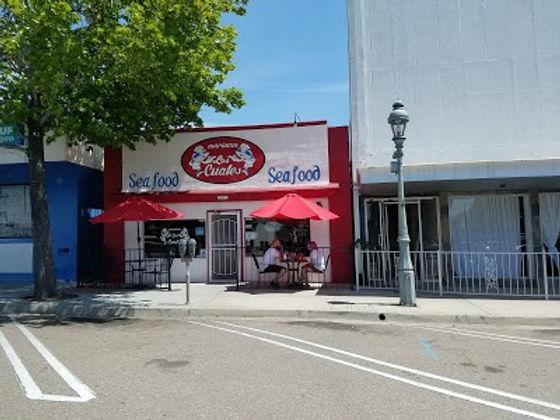 Mariscos Los Cuates store front