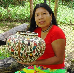 Wounaan Master Weaver