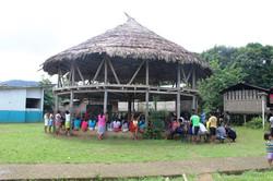 Wounaan meeting house