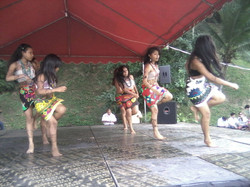 Wounaan traditional dance