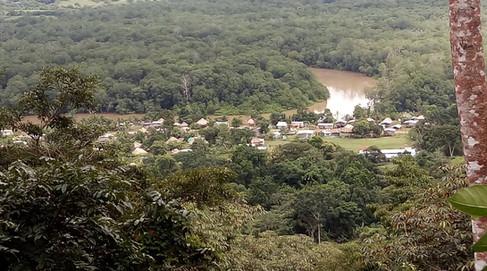 Wounaan community along Lara River