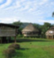 Wounaan village in Panama
