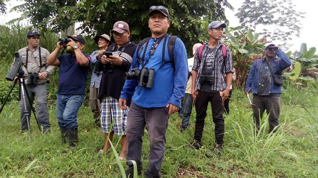 Wounaan bird group Oropendolas Negras