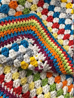 Fairground Pram Blanket (Textiles)