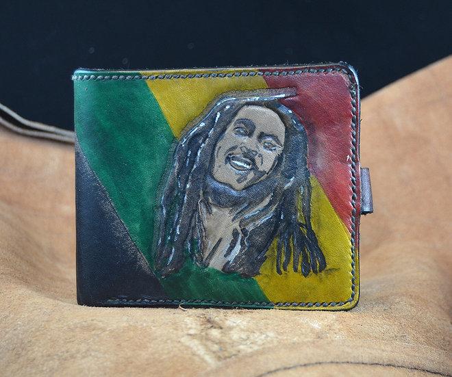 Bob Marley Leather Wallet