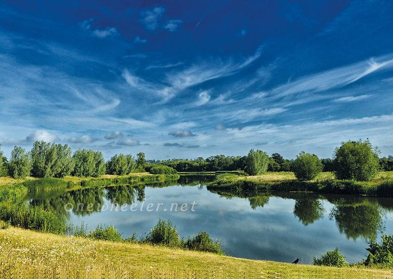 Jubilee River (Greeting Card)