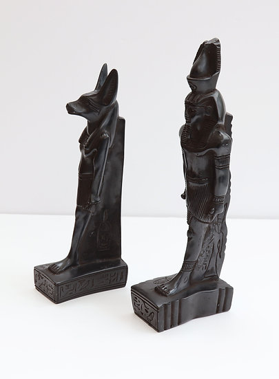 Egyptian Style Bookends (Resin)