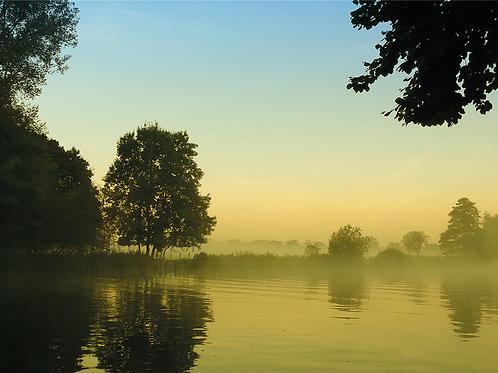 River Thames Morning (Greeting Card)