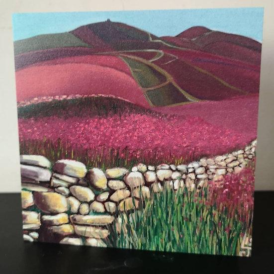Moel Famau North Wales (Greeting Card)