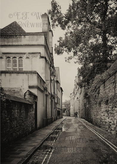 Brewer Street, Oxford (Greeting Card)