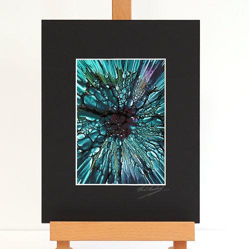 Flowerlike (Encaustic Wax Painting)