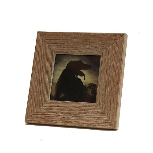 Bark at the Moon (Framed Print)