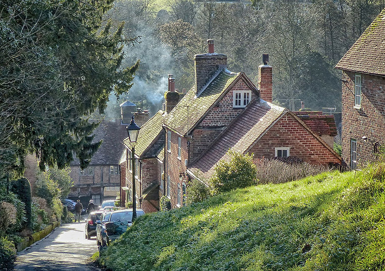 West Wycombe Village (Greeting Card)