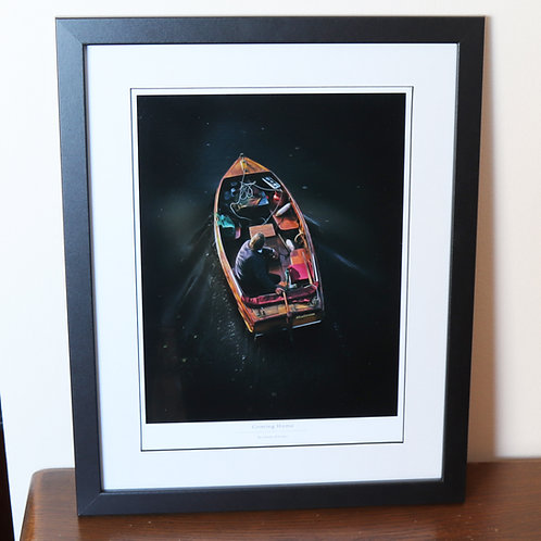 Coming Home (Framed Print)