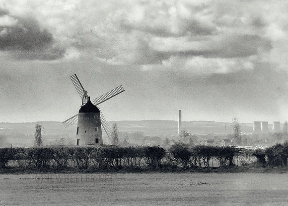 Windmill (Greeting Card)