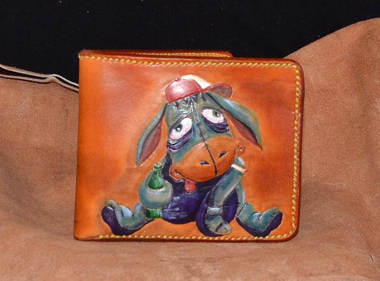 Drunken Donkey Leather Wallet