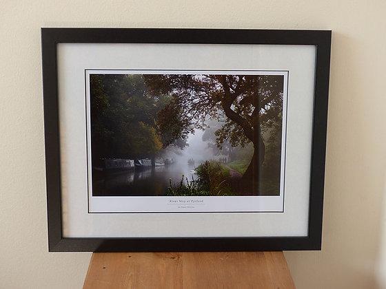 River Wey (Framed Art Print)